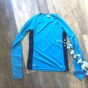 Alo Two Tone Blue Cool-fit Thermal